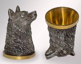 Figurine de la riton «Le loup»