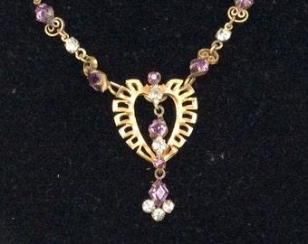 Antoinette 1/20 12K GF Pendant Chain Necklace