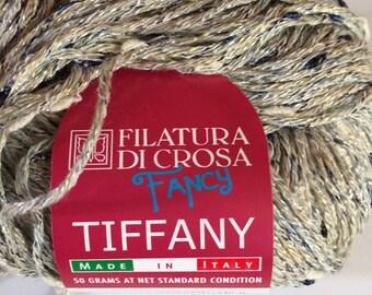 Fancy Tiffany yarn Filatura Di Crosa Silver