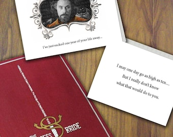 Princess Bride - Anniversary Card - Customize with your Anniversary year! - Funny!!!!