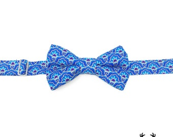 Boys Royal Blue Bow Tie, Mens Royal Blue Bow Tie, Toddler Royal Blue Navy Bow Tie, Ring Bearer Outfit, Royal Blue Baby Bow Tie, Bowtie