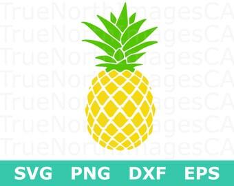 Pineapple SVG /  Pineapple Clipart / Pineapple Silhouette / Pineapple Vector / Pineapple SVG File / svg File for Cricut / Silhouette Files