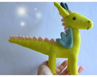 Arlo the dragon (pattern by PicaPau)