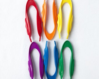 Jumbo tweezers - fine motor development, busy bag accessory, brightly coloured pincers