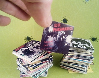 24 Mini Punk Records - Series 1 AND 2 Combo Set
