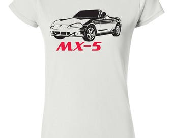 Dames of heren shirts MAZDA MX5