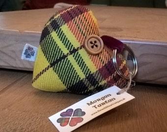 Welsh tartan key ring