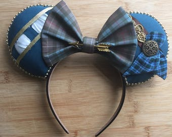 Merida Minnie Ears, Merida inspired Mouse Ears, Brave Ears