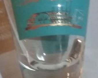 Rare,Southern Comfort Promo Glass, Triple Jigger, Steamboat Shot Glass, Vintage 60's,