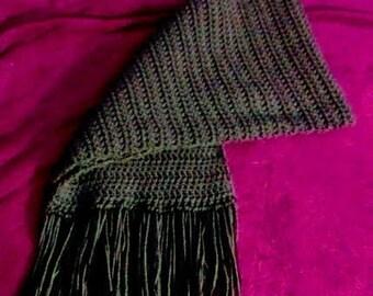 Jazzy wide scarf