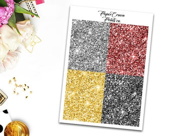 BRAVE Glitter Headers/Planner Stickers for Erin Condren Planner/Happy Planner/Personal Planner/Tn headers kit/Functional Headers