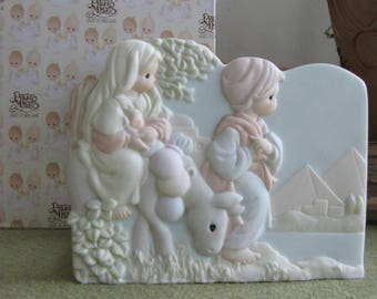 Precious Moments The Nativity Card Holder 1996 Retired