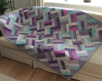 Cuddle Quilt, Patchwork Throw