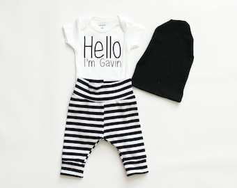 personalized boy baby shower present, baby boy coming home outfit, baby boy clothes, boy bodysuit, personalized bodysuit, shirt, new baby