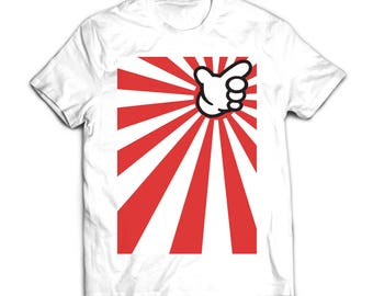 Japanese Kamakazi Kanjozoku. 100% Cotton T-Shirt Printed in FULL COLOR