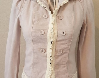 ON SALE Vintage Lavendar Jacket