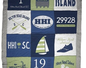 Hilton Head Island HHI Destination Blanket