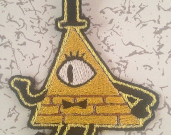 Gravity Falls Bill Cypher Patch