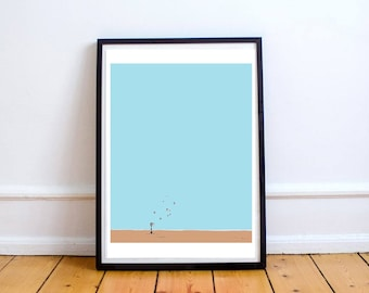 Political Art Print 'Games of Losing Hope (3)' | Fine Art | Protest Art | Post Modern | Brexit | Trump| Minimalist | By PrettyPolitical