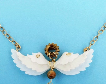 Beat of Angels Wings necklace