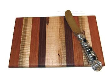 Rectangle Cheese Cutting Board, Bread Board, Multi Wood Board, Cutting Board, Small Cutting Board, Hostess Gift