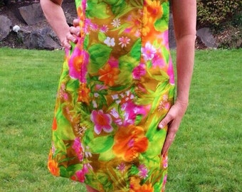 Vintage 1960's  Dress , Size Small