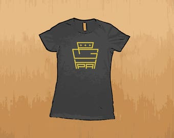 Pgh Keystone Ladies Shirt