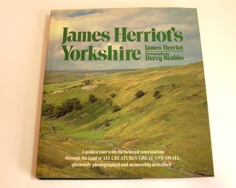 James Herriot's Yorkshire By James Herriot And Photographs By Derry Brabbs Vintage Book