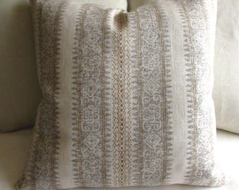 Frascati Flax Linen pillow cover 20x20
