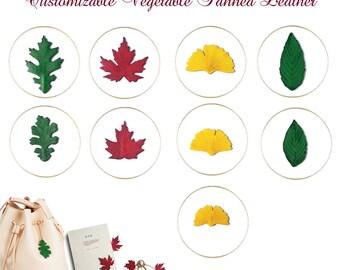 Handmade Environment Friendly Leather Customizable Ornament Charm #bc62