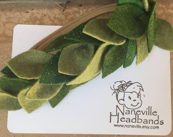 Greenery/foliage headband