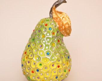Embellished Pear