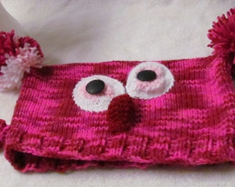 Cwazy Eyes Owl Hat