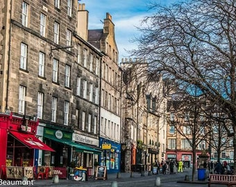 Edinburgh - Grassmarket (east)