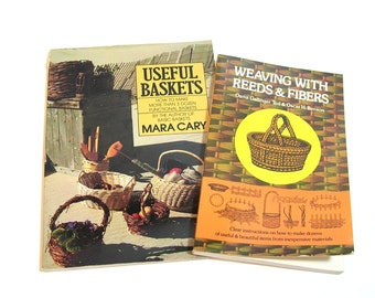 Weaving With Reeds And Fibers And Useful Baskets, Basket Weaving Books