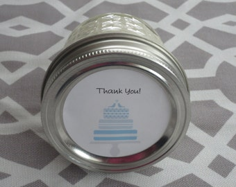 Bridesmaid Candle- 4 oz Candle- Scented Soy Candle -Wedding Candle- Bridesmaid Gift