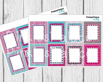 Valentine Planner Stickers Full Box Stickers Vertical Planner Stickers Horizontal Planner Stickers PS364 Fits Erin Condren Planners