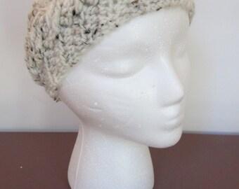 READY TO SHIP** Crochet ear warmer, crochet headband, cable knit ear warmer, winter headband, winter ear warmers, cable headband, crochet