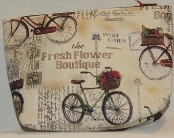 Fresh Flower Boutique Zipper Pouch