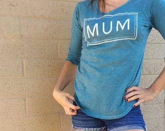Mom Graphic Tee / Mother Graphic 3/4 Long Sleeve / MUM Shirt !