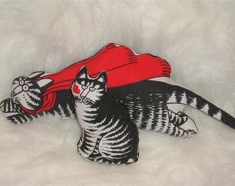 KLIBAN Cat fabric POWERFUL Organic Catnip Toys ~ Set of 2 !