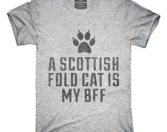 Cute Scottish Fold Cat Breed T-Shirt, Hoodie, Tank Top, Gifts