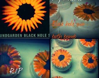 Atomic Balm, Bubble bath bomb, bath art, 'black hole sun' farewell Chris Cornell,  tribute , some proceeds go to mental health luv the bombz