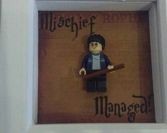 Harry Potter lego 'Mischief Managed' picture