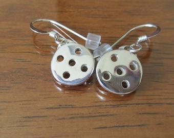 New Sterling Silver Pickleball Earrings (Pbe50)