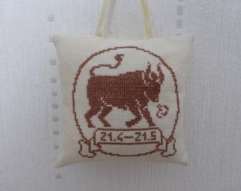 Pillow - Taurus zodiac sign