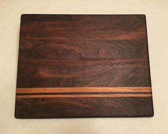 SOLD OUT - Walnut and Cherry Cutting Board