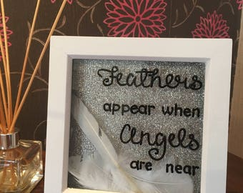 Angel Feather Frame