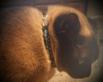 Crystal dog collar