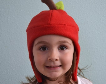 The Red Apple Hat, : Sizes Newborn through Adult
